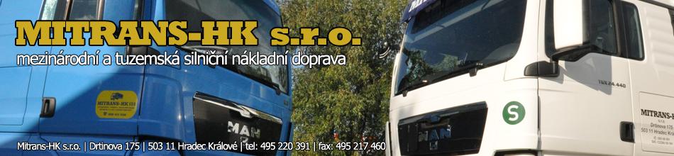 Mezinárodní a tuzemská silniční nákladní doprava